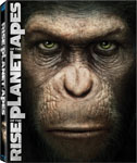 Rise of the Planet of the Apes (Two-Disc Edition Blu Ray + DVD/Digital Copy Combo) - Blu-ray / action and adventure DVD / drama DVD / science fiction DVD / remake DVD review